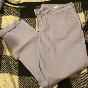 Lavender Old Navy Rockstar Jeans